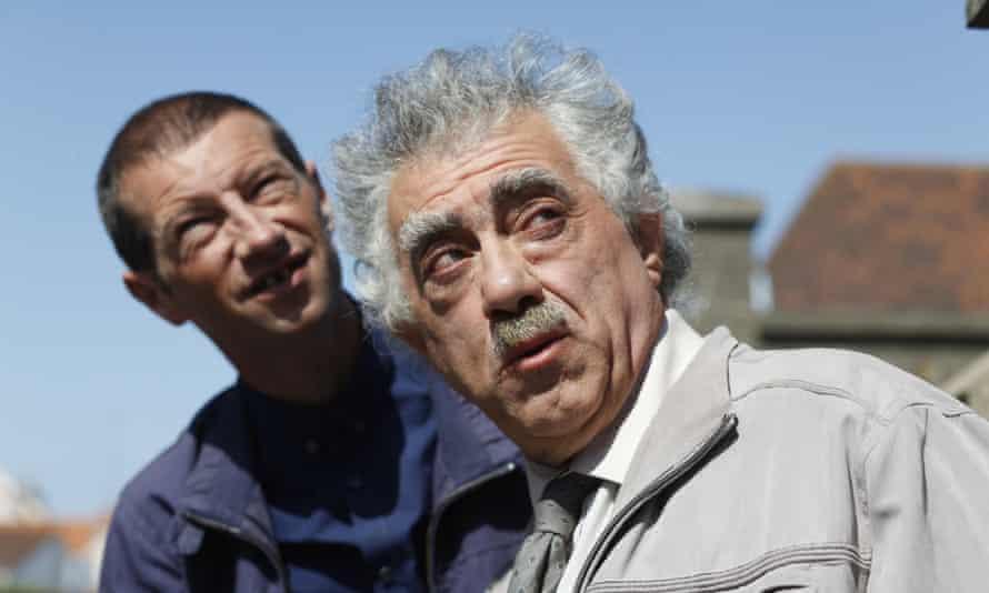 Philippe Jore (left) and Bernard Provost (right) in P'tit Quinquin