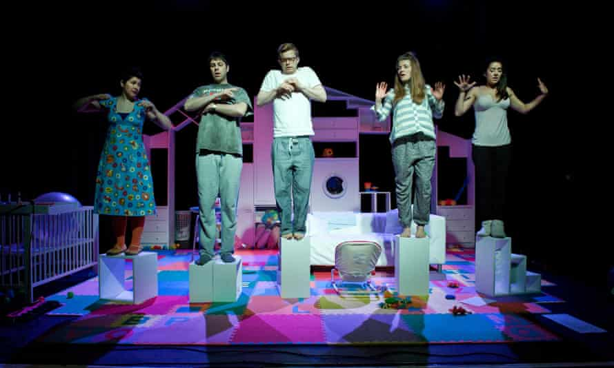 Tangled Feet's production Kicking and Screaming, which played at ARC in March.