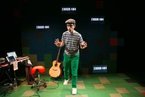 ARC collaborator Daniel Bye in his show Error 404.