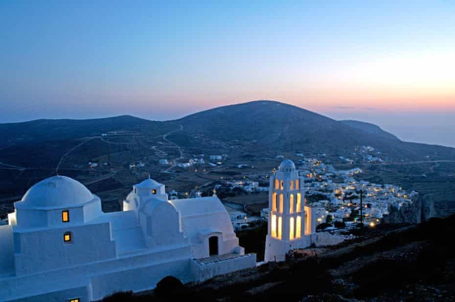 Kimisis Theotokou church, Folegandros.