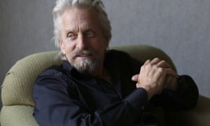 Michael Douglas believes there's a crisis among young US actors.
