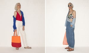 Swimsuits from 'All Ages' in Guardian Weekend