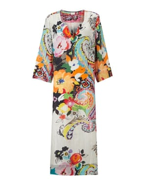 Silk kaftan, £149, East