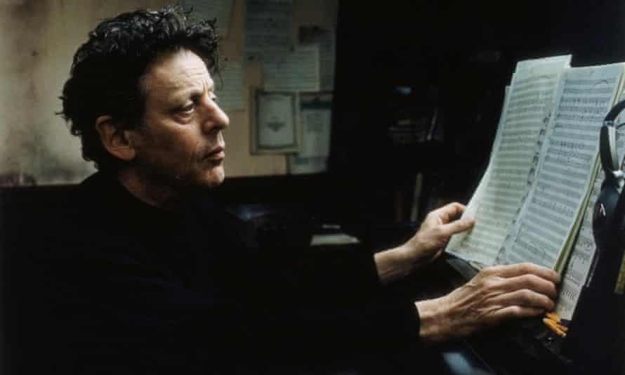 Philip Glass: 'I like his output, he's always working.'