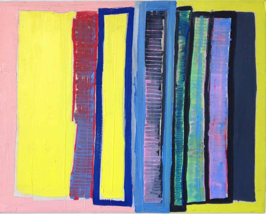 Matt Connors: 'He uses colour and shape in an interesting way.'