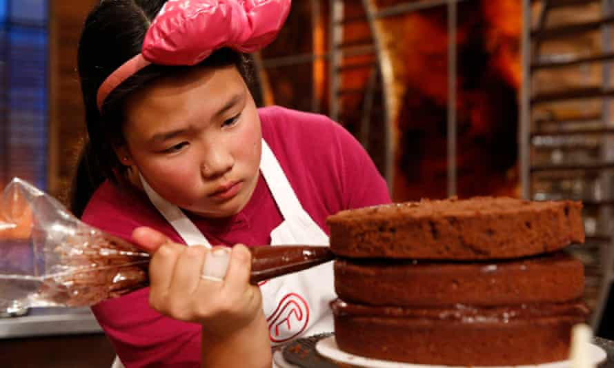 MasterChef Junior US contestant, Dara Yu: 'It's like sportsmen and women, they start younger and younger.'