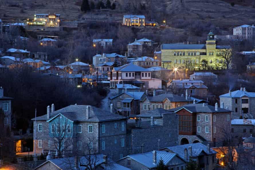 Nymfaio, in Florina, Macedonia, Greece.