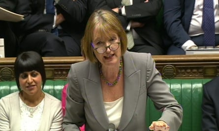 Harriet Harman: 'When you're in opposition, the temptation is to oppose everything the government does.'