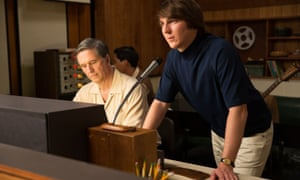 Paul Dano as the young Brian Wilson in the recording studio.