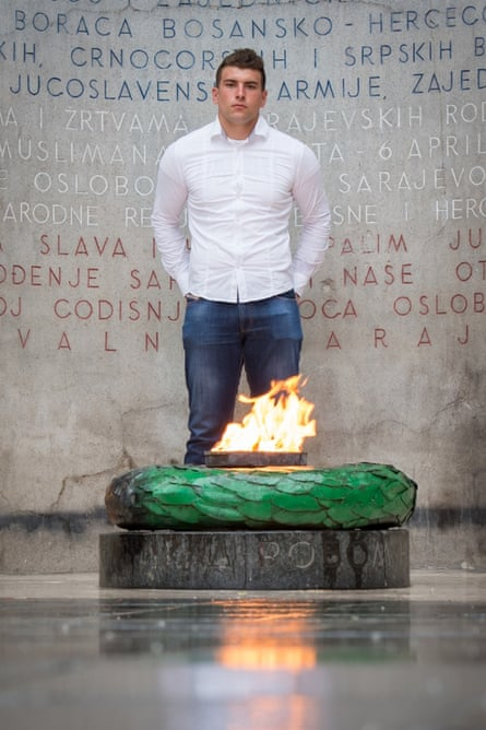 Alen Muhic, photographed in Sarajevo in June.
