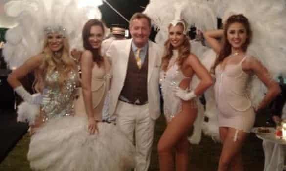 Piers Morgan: more Hugh Hefner than Great Gatsby?
