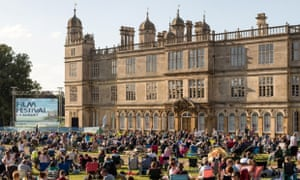 Burghley film festival, Lincolnshire
