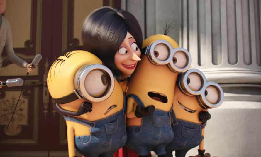A scene from Minions