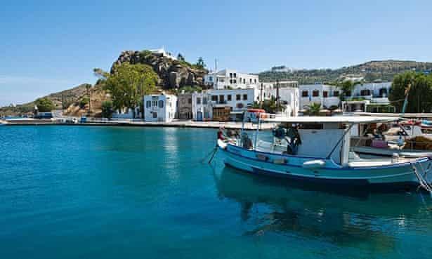 Skala village, Patmos.
