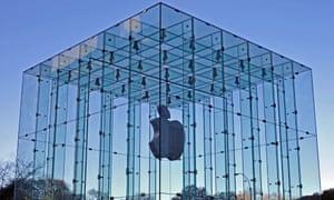 Apple's flagship store in Manhattan, New York