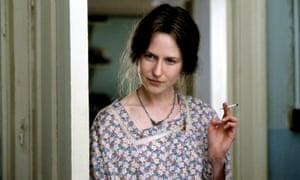 Nicole Kidman as Virginia Woolf in The Hours.