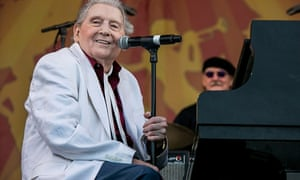 The Killer … Jerry Lee Lewis performs at a 2015 New Orleans festival