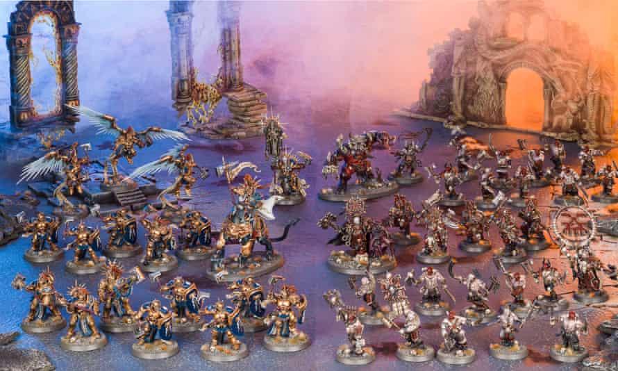 Warhammer: Age of Sigmar miniature armies