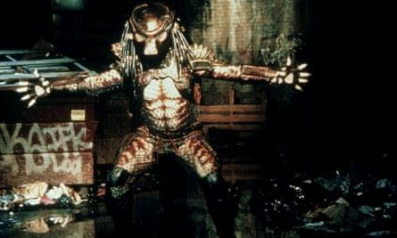 Predator 2: alien hunter meets big city.