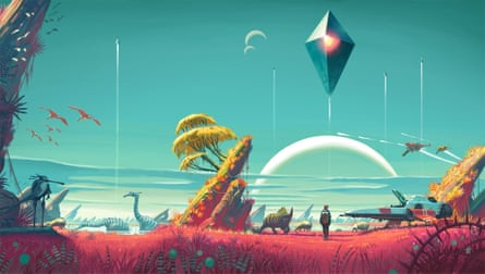 Every planet in No Man's Sky has been individually generated by the game's program.