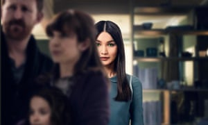 Gemma Chan in Humans.