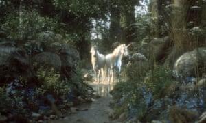 Two unicorns.