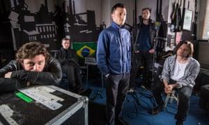 The Maccabees in studio