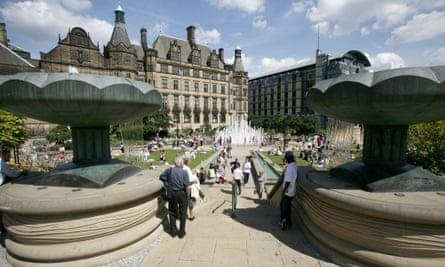 Sheffield Peace Garden.