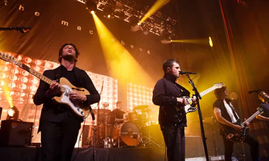 The Maccabees live at the Elephant and Castle Coronet.