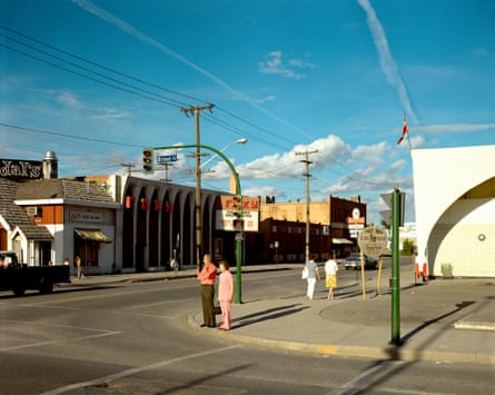 Broad Street, Regina, Saskatchewan, 17 August, 1974 by Stephen Shore
