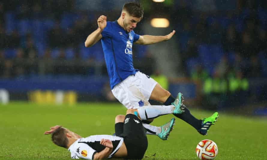 Luke Garbutt, top, cost Everton an initial £600,000 from Leeds United, but that could rise to £1.5m depending on his career.