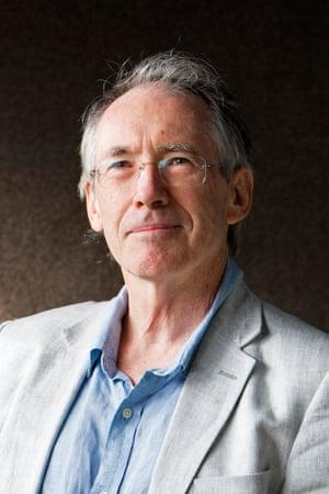 Ian McEwan. Photograph: Murdo MacLeod for the Guardian