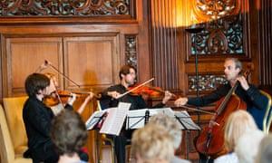 Sacconi Quartet: 'a savage urgency'.