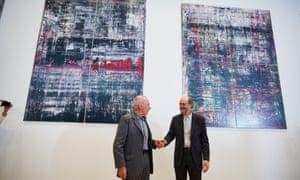 Gerhard Richter Arvo Pärt Manchester international festival