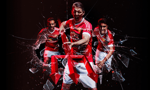 100% authentic abbc6 23dcc Manchester United launch retro Adidas kit following their ...