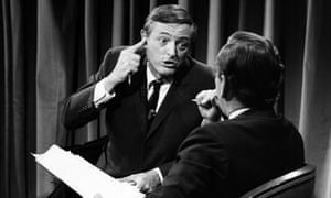 William F Buckley rounds on Gore Vidal during their famous 1968 TV debates.