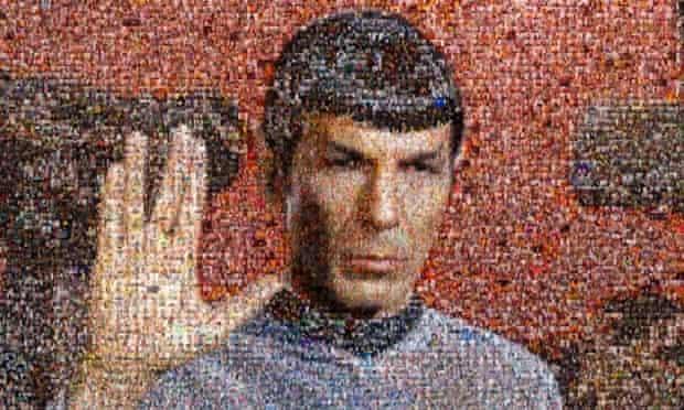 Leonard Nimoy as Mr Spock by William Shatner