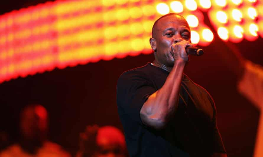 Straight outta the Apple Store … Dre's new album Compton is on limited release.