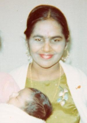Surinder Dhaliwal, with baby Nirpal.