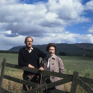 Queen Elizabeth II and Prince Philip at Balmoral, Scotland, 1972