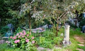 A Lower East Side community garden