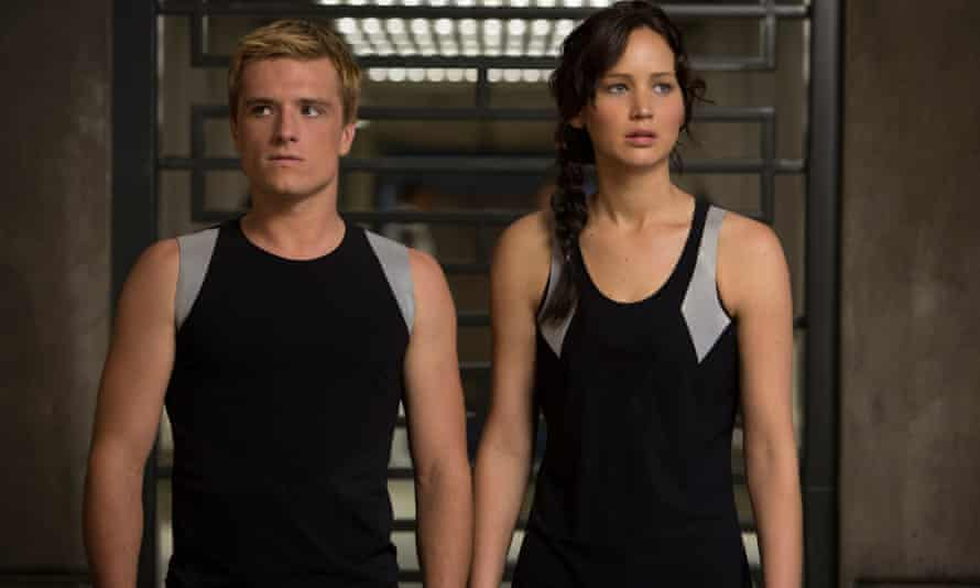 Josh Hutcherson as Peeta Mellark and Jennifer Lawrence as Katniss Everdeen in a scene from The Hunger Games: Catching Fire...but what if you fancy an adventure of a more literary bent?