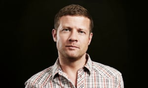 Dermot O'Leary: fronting a gameshow featuring Top Gear's The Stig