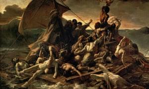The Raft of the Medusa (Le Radeau de la M  duse), 1818-1819, by Théodore Géricault