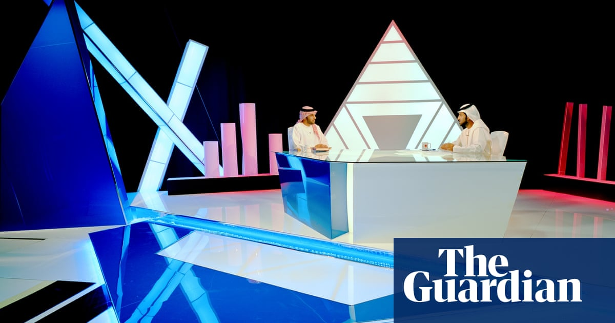Straight out of sci-fi: futuristic TV sets in UAE – in pictures