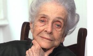 One of the few: Nobel laureate Rita Levi-Montalcini looking pensive