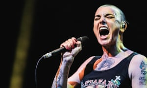 Ever changing moods. Sinead O'Connor at London's Roundhouse in 2014.