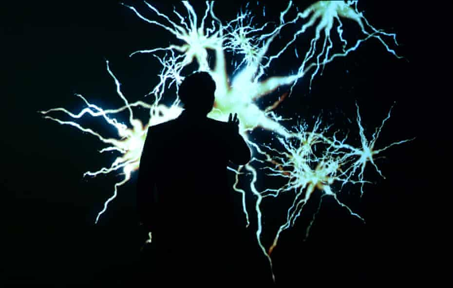 a scene from Robert Lepage's 887