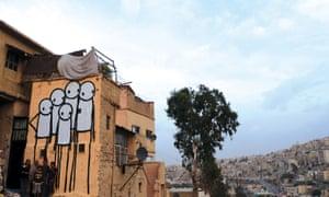 Family. Jabal al Qala'a, Amman, Jordan, 2012.