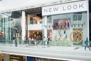 New Look in Westfield shopping centre, London. The move to menswear was a natural step, the retailer's chief creative officer said.